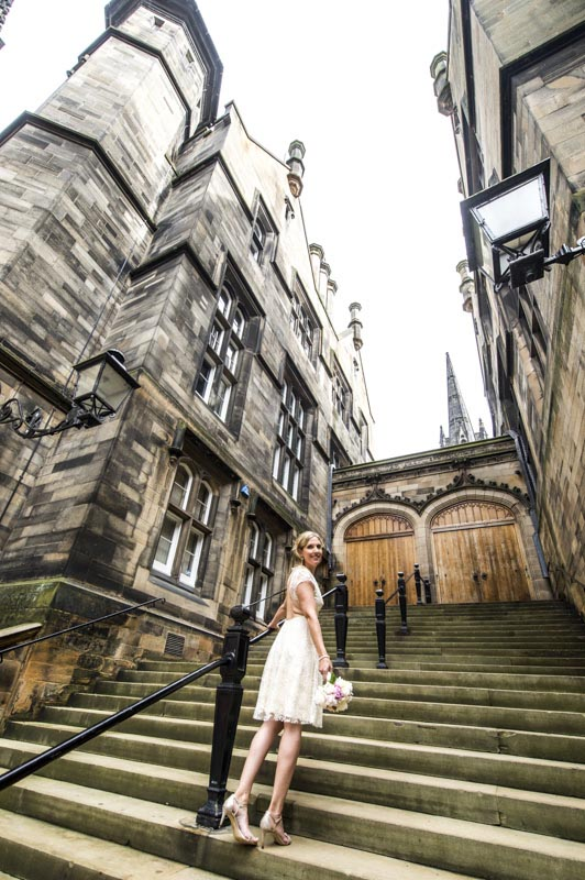 edinburgh castle wedding