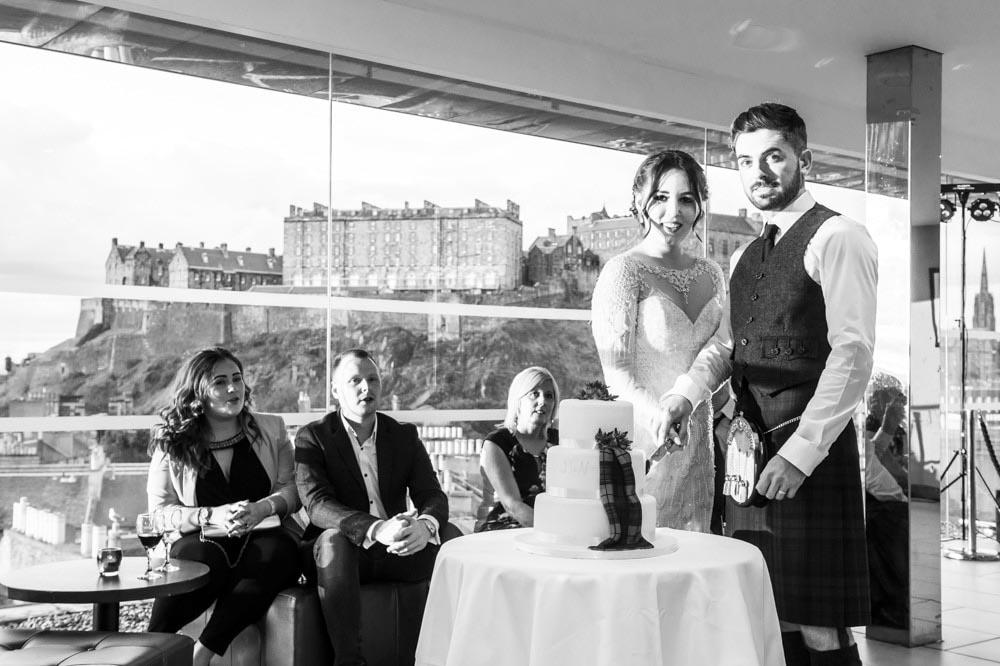 double tree hilton edinburgh wedding