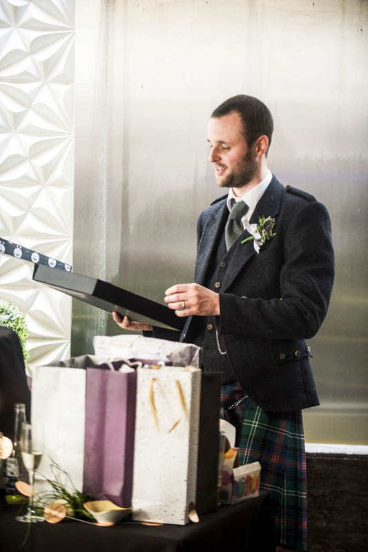 the place hotel edinburgh wedding