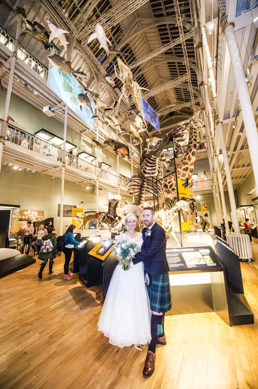 National Museum of Scotland Wedding