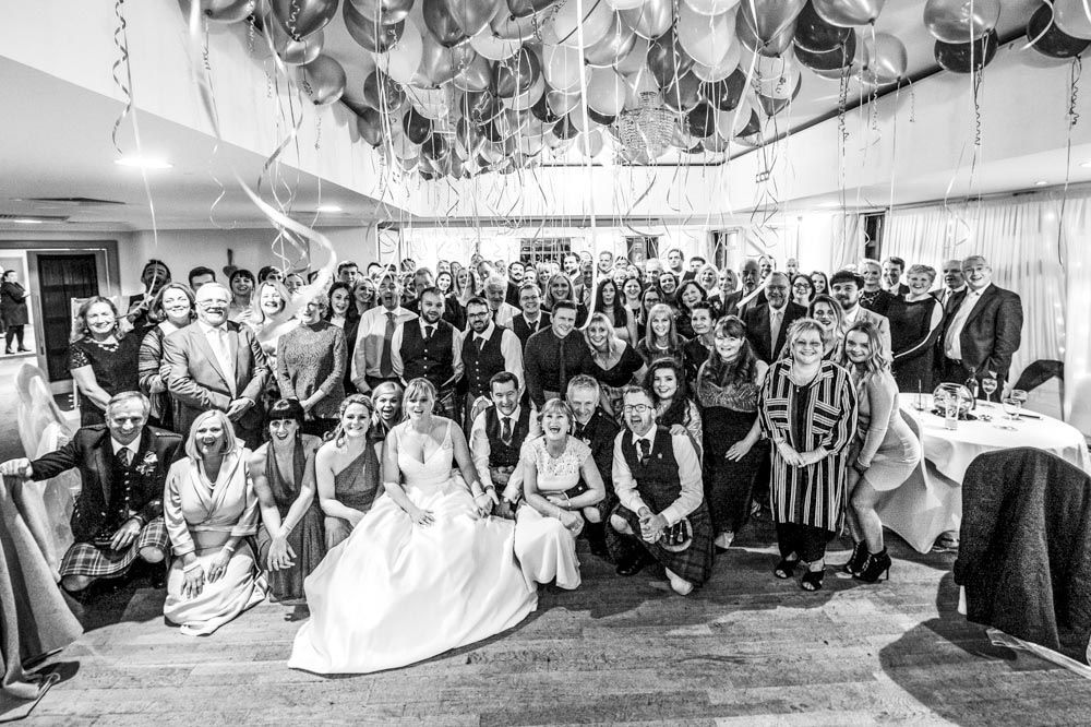 duddingston golf club wedding