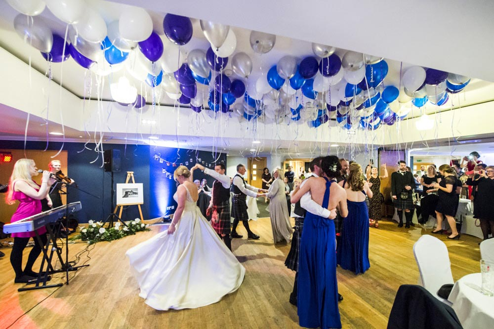 duddingston golf club wedding