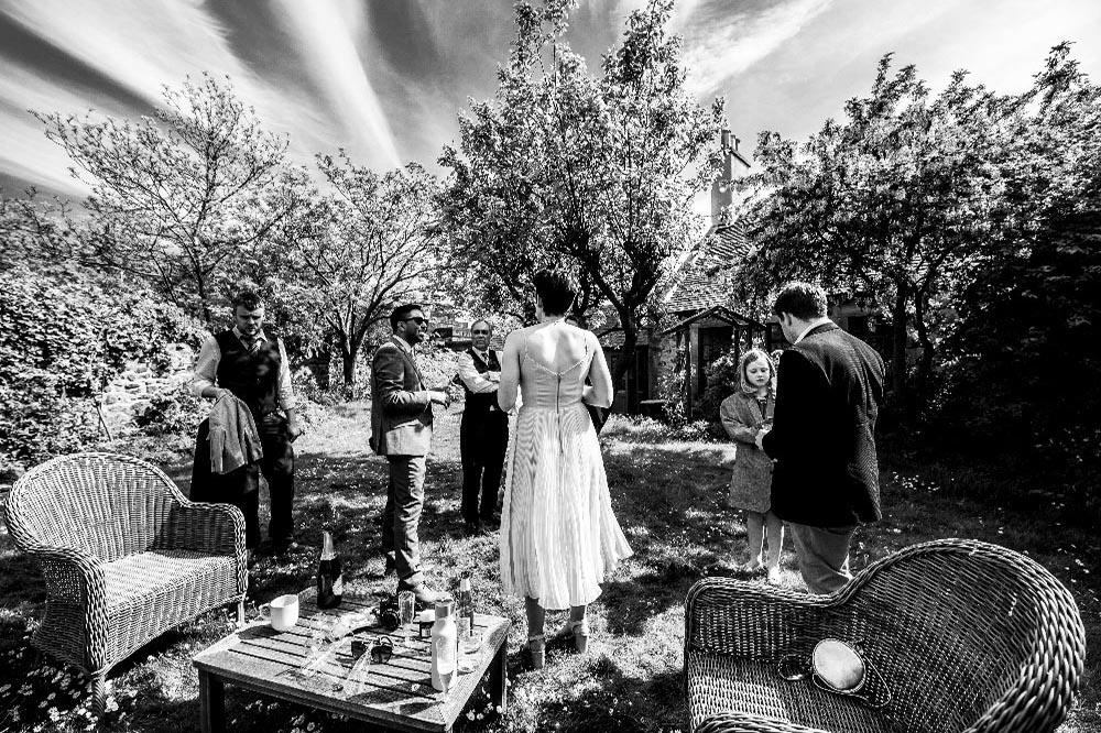 rock house edinburgh wedding