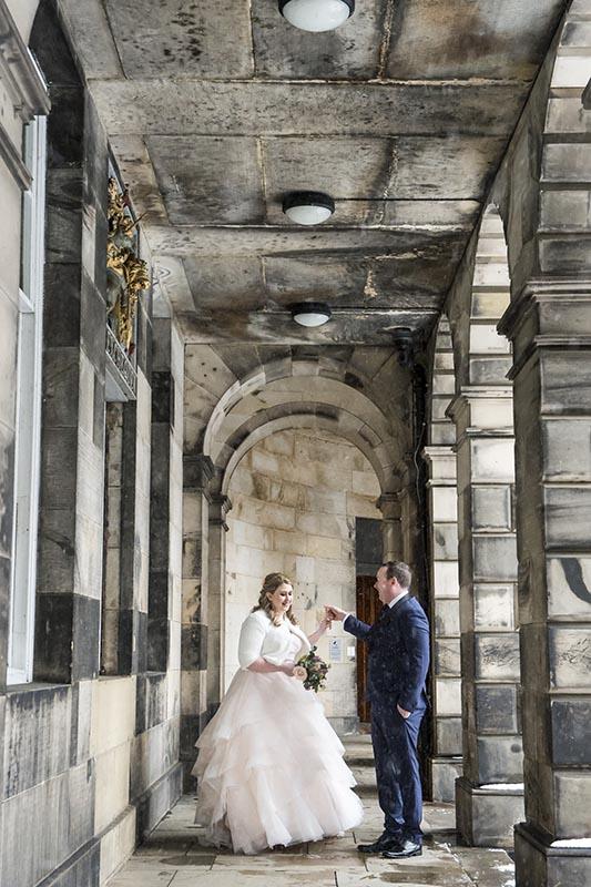 beast of the east edinburgh wedding