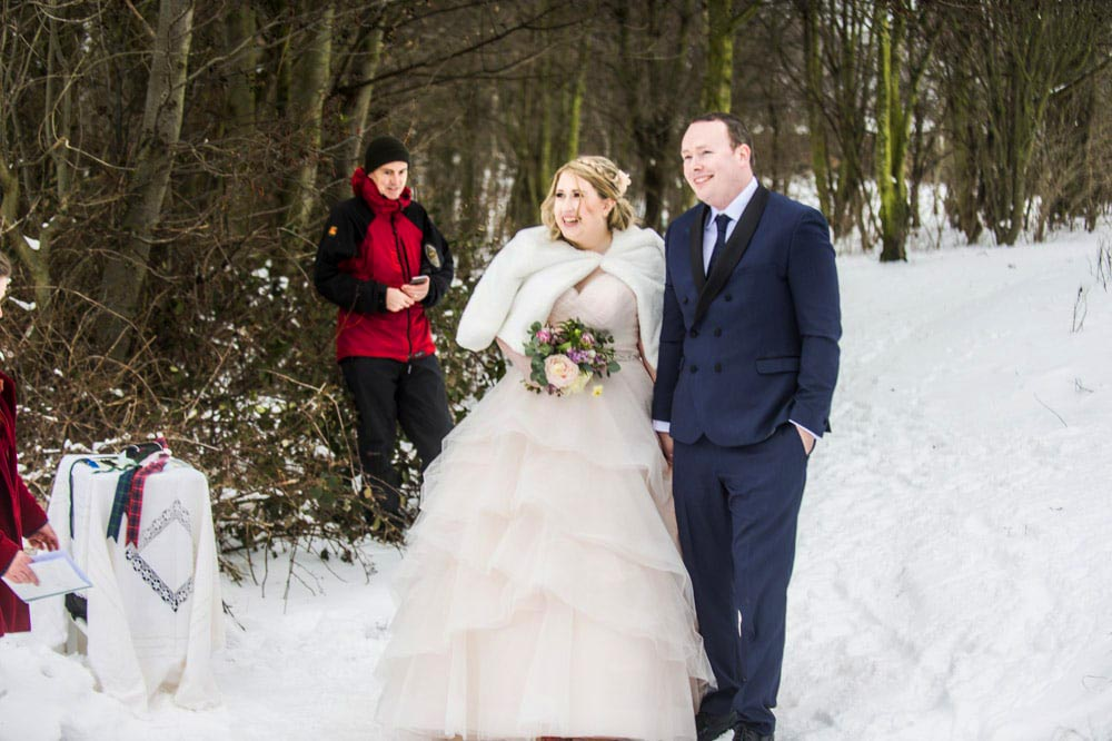 st margarets loch edinburgh wedding