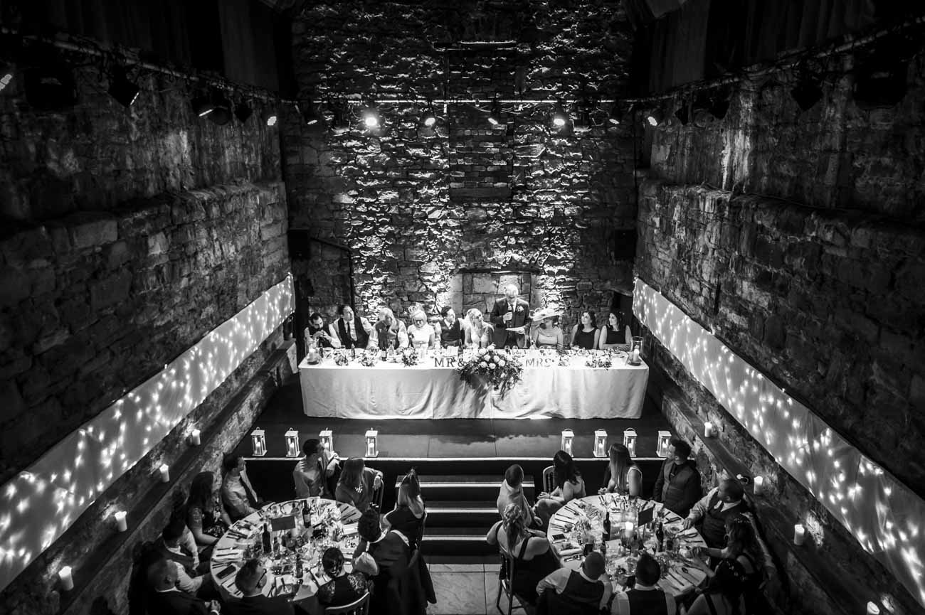 caves edinburgh wedding