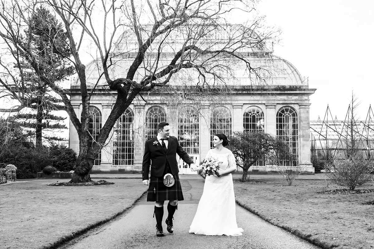 botanic gardens edinburgh wedding