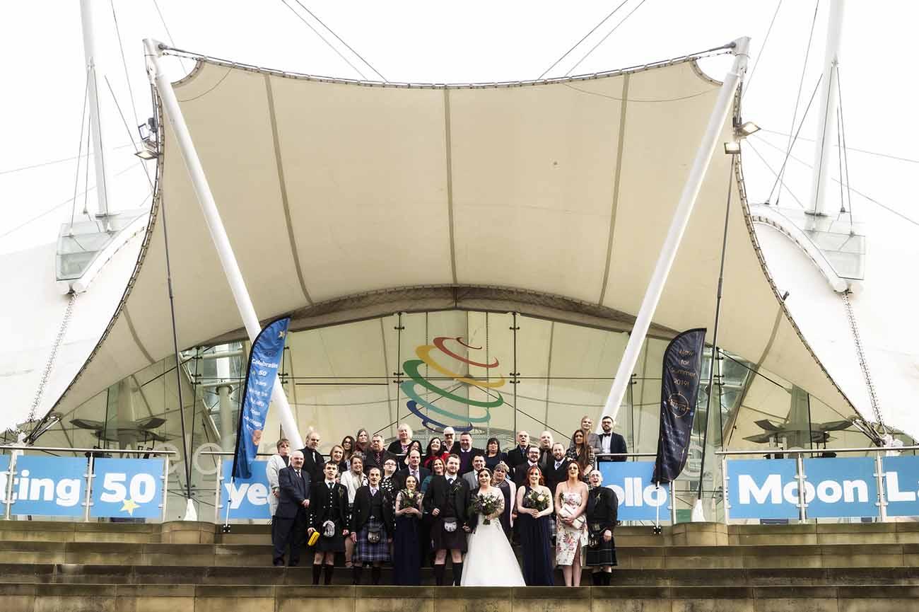 dynamic earth wedding