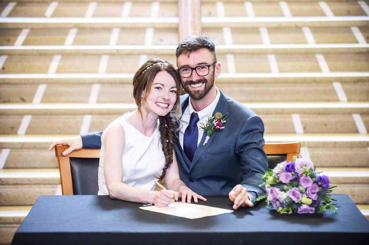 leith registrars office wedding