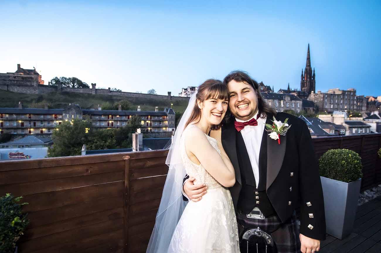 apex international grassmarket wedding