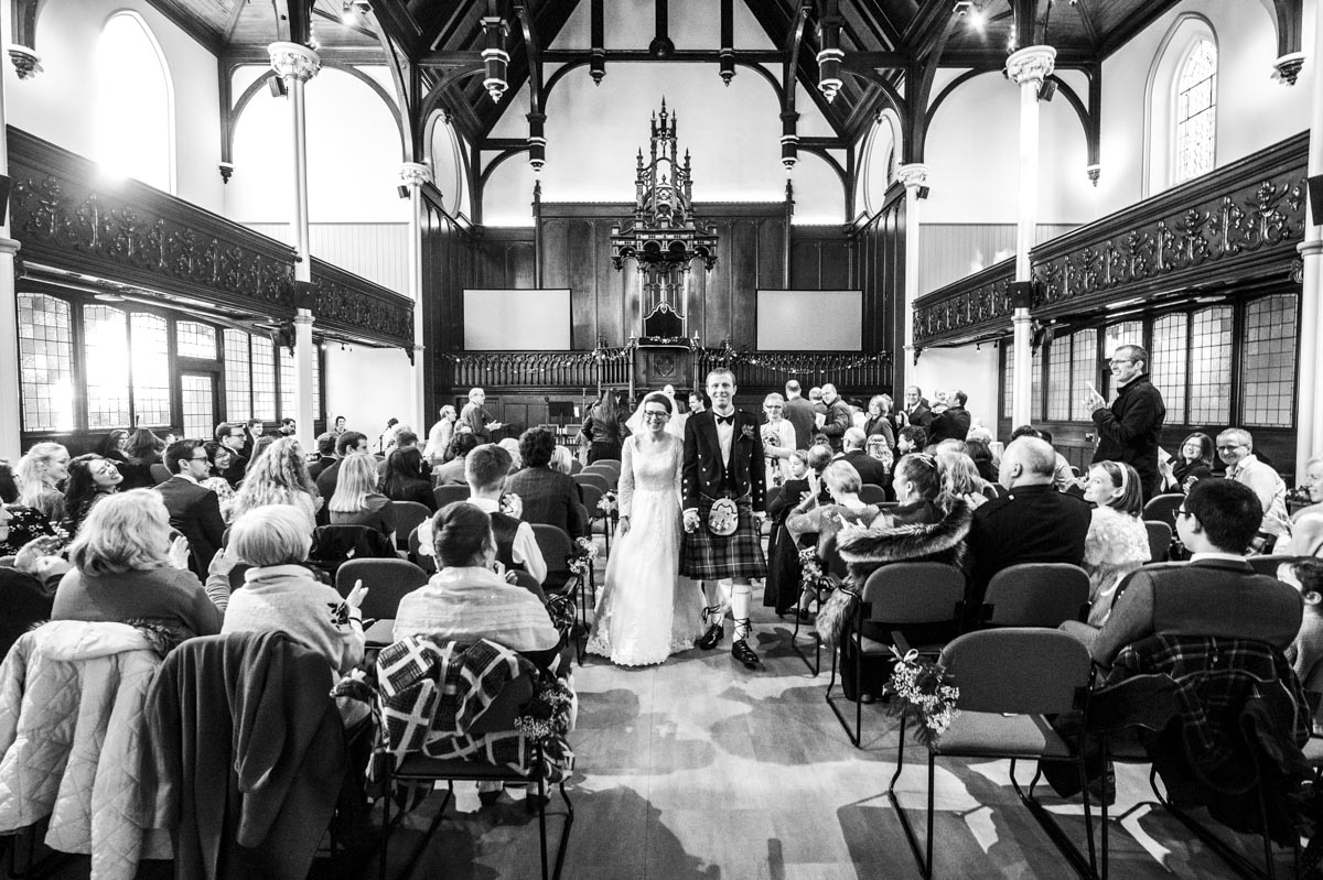 st columbas free church edinburgh wedding