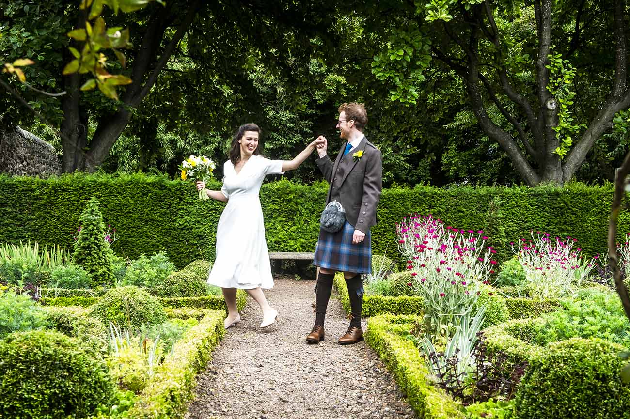dunbars close garden wedding