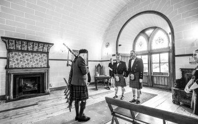 Dalhousie Castle Gay Wedding