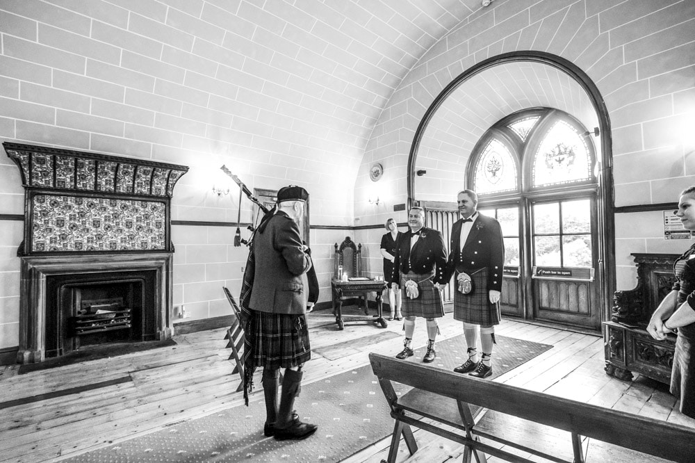 dalhousie castle gay wedding