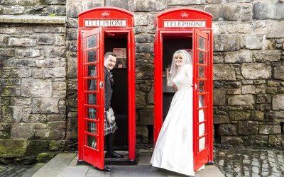 Edinburgh Castle Duddingston Golf Club Wedding