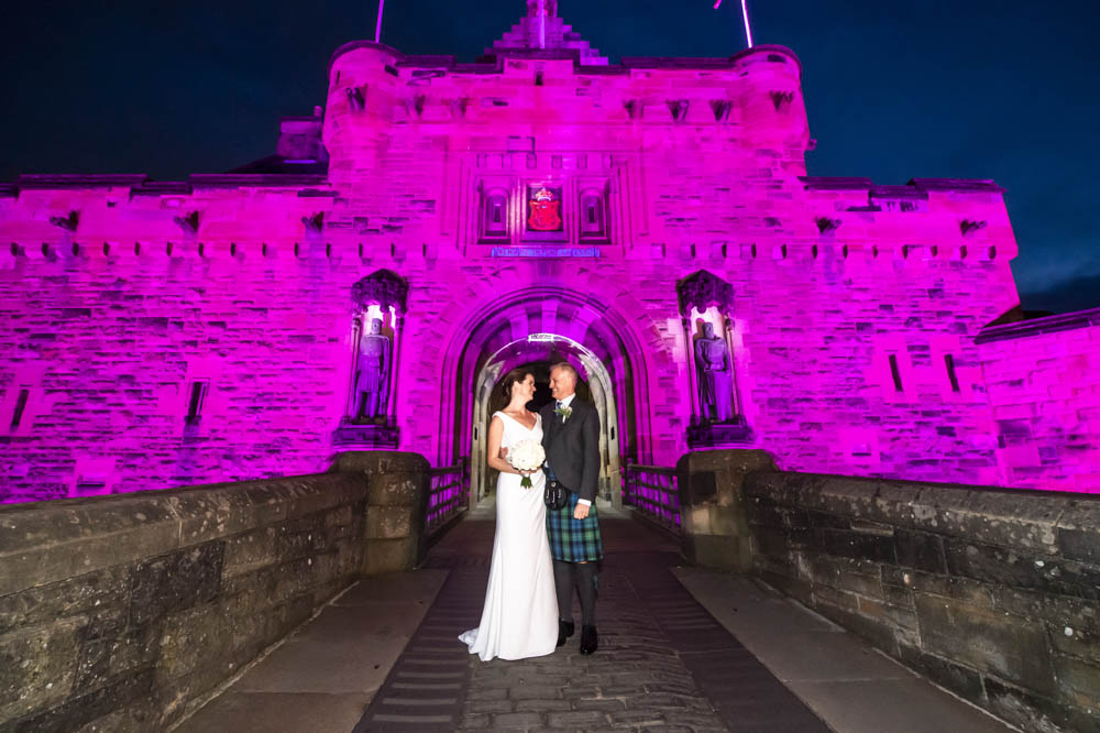 St Margarets Chapel Wedding at Edinburgh Castle