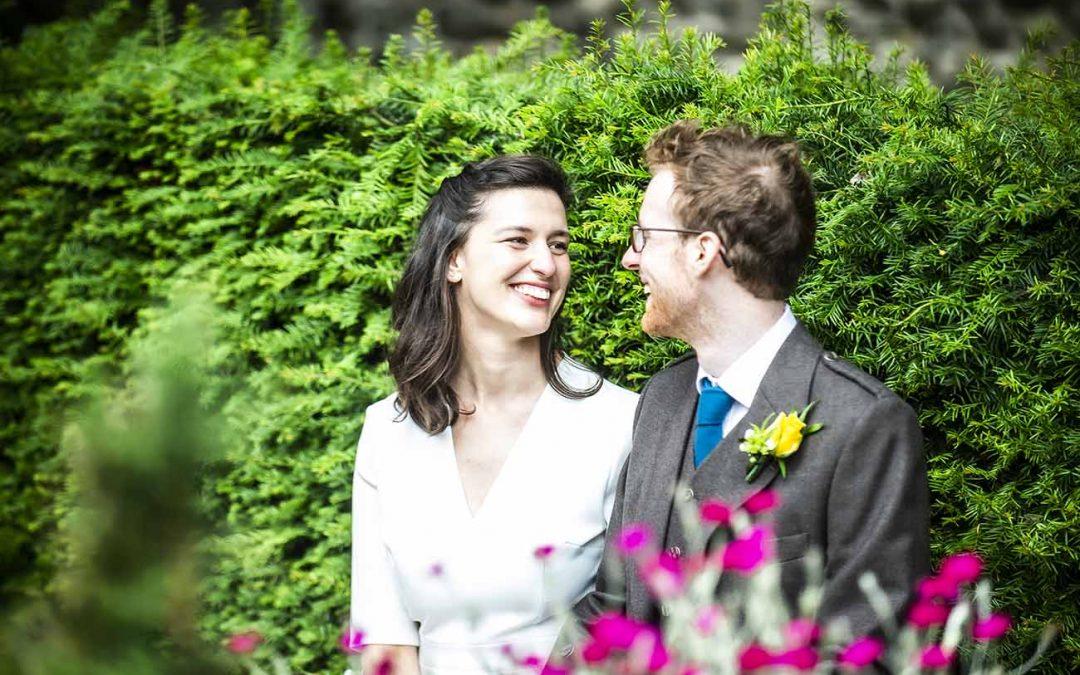 Dunbars Close Garden Wedding
